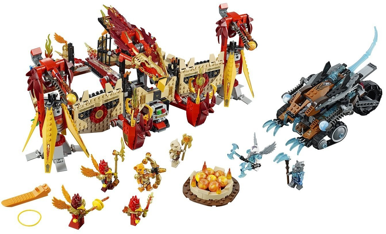 70146-1 Flying Phoenix Fire Temple