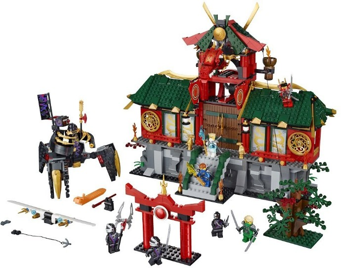 70728-1 Battle for Ninjago City
