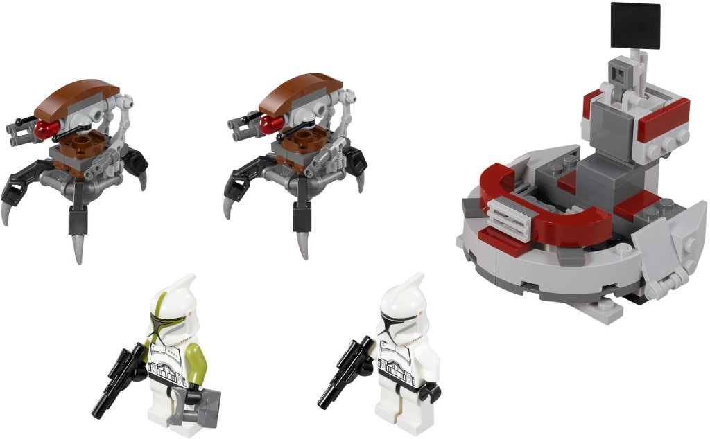 75000-1 Clone Troopers vs. Droidekas