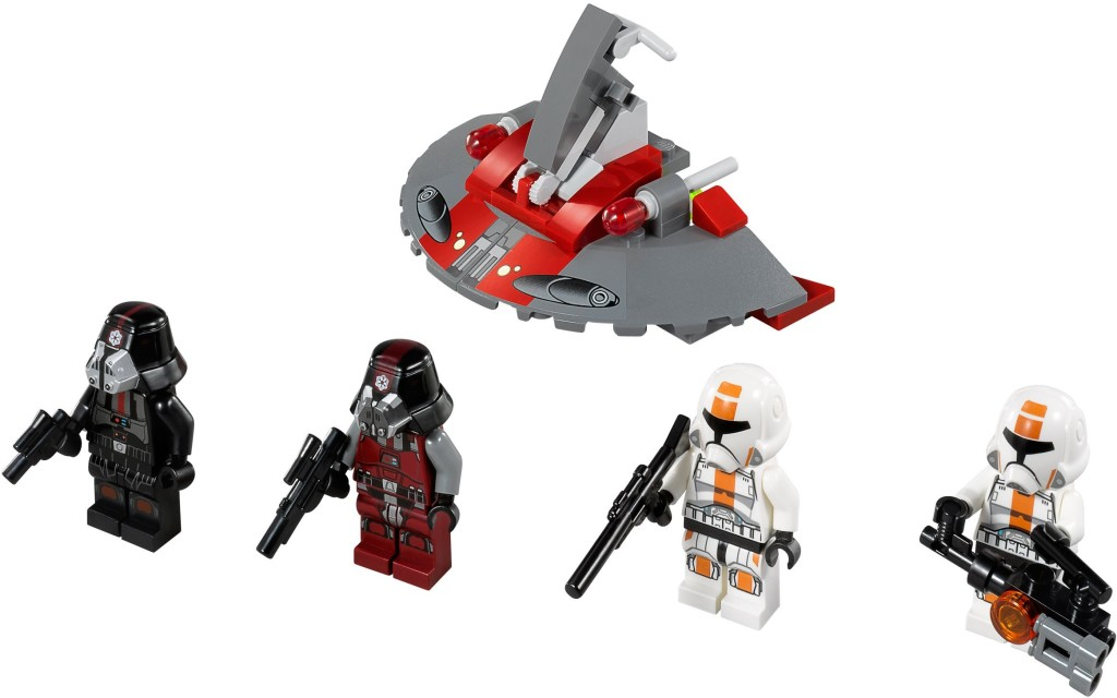 75001-1 Republic Troopers vs. Sith Troopers