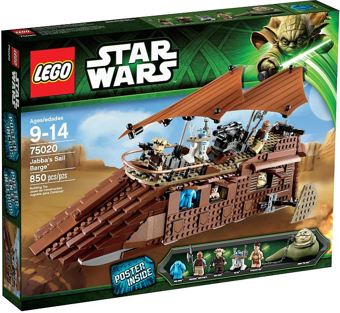 75020-1 Jabba's Sail Barge