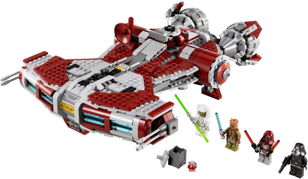 75025-1 Jedi Defender-Class Cruiser