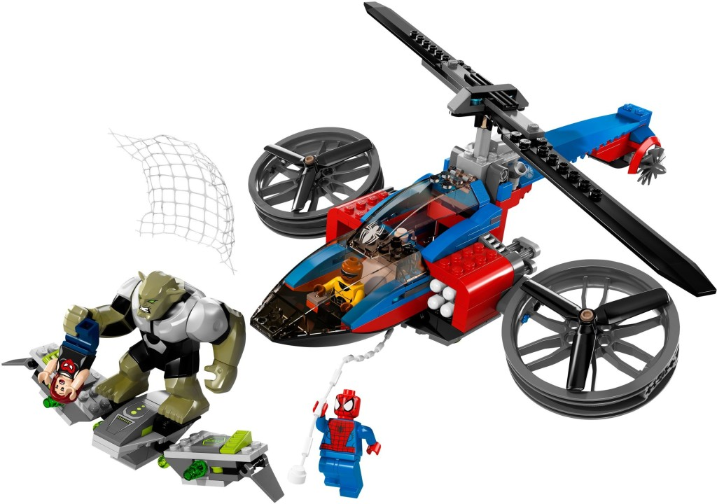 76016-1 Spider-Helicopter Rescue