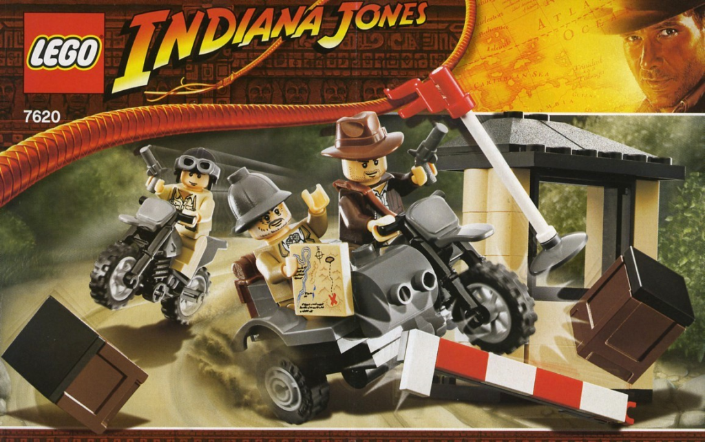 7620-1 Indiana Jones Motorcycle Chase