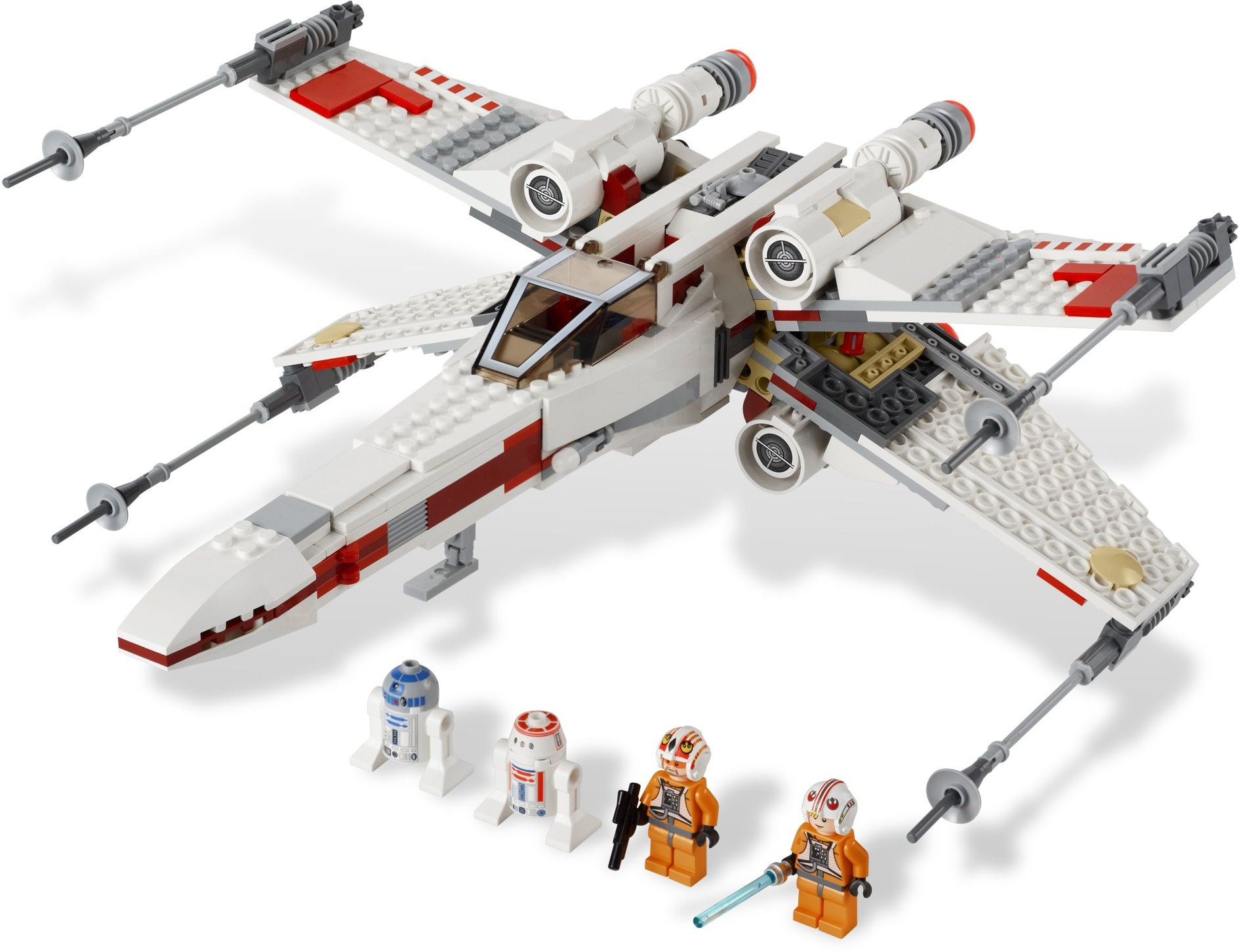 9493 x wing starfighter lego star wars beyond. Black Bedroom Furniture Sets. Home Design Ideas