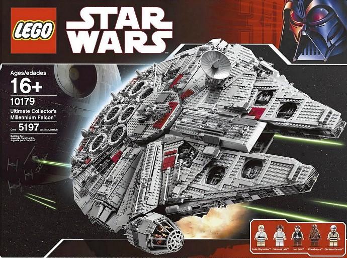 10179: Ultimate Collector's Millennium Falcon | Lego Star ...