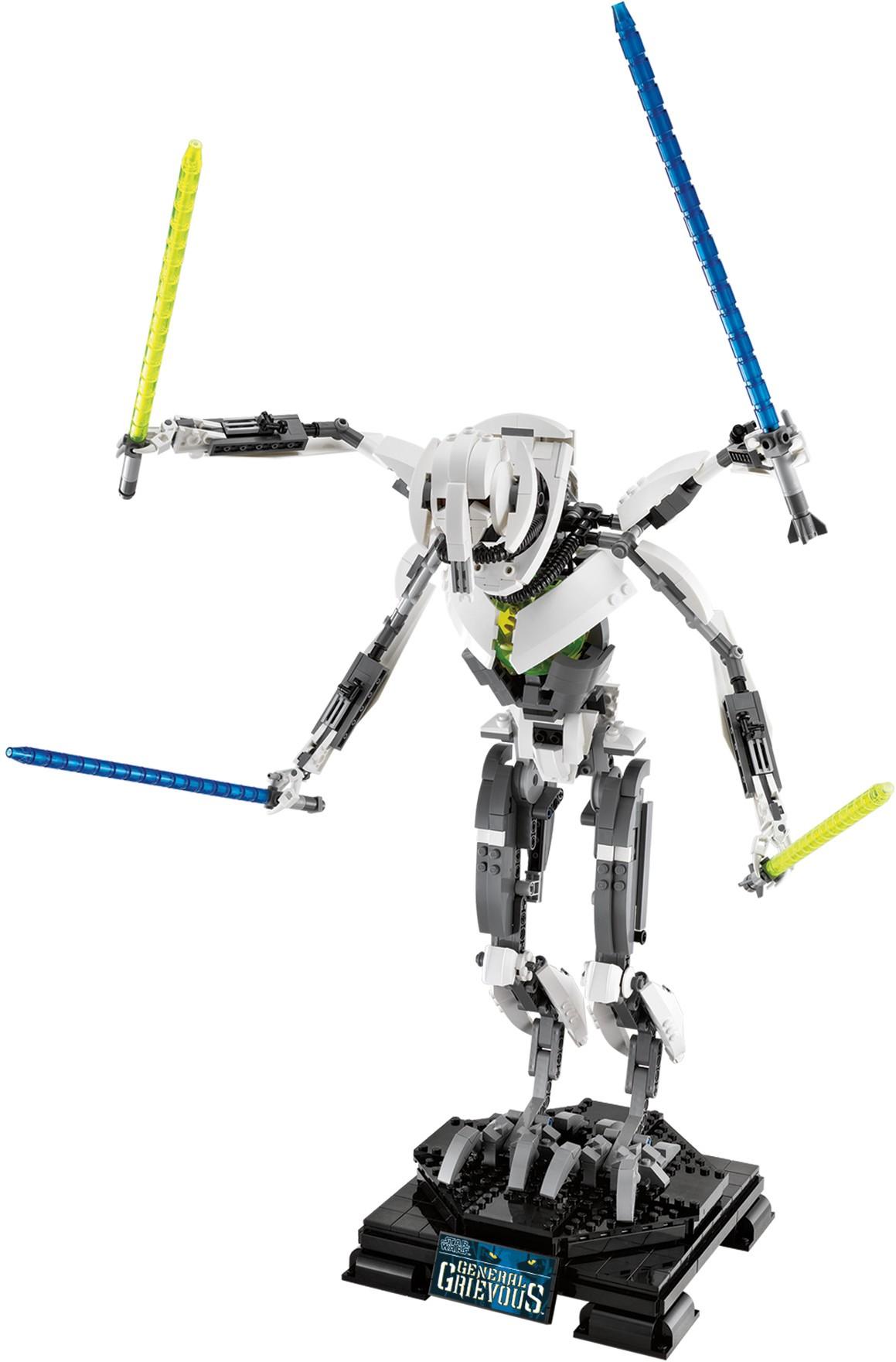 10186: General Grievous | Lego Star Wars & Beyond