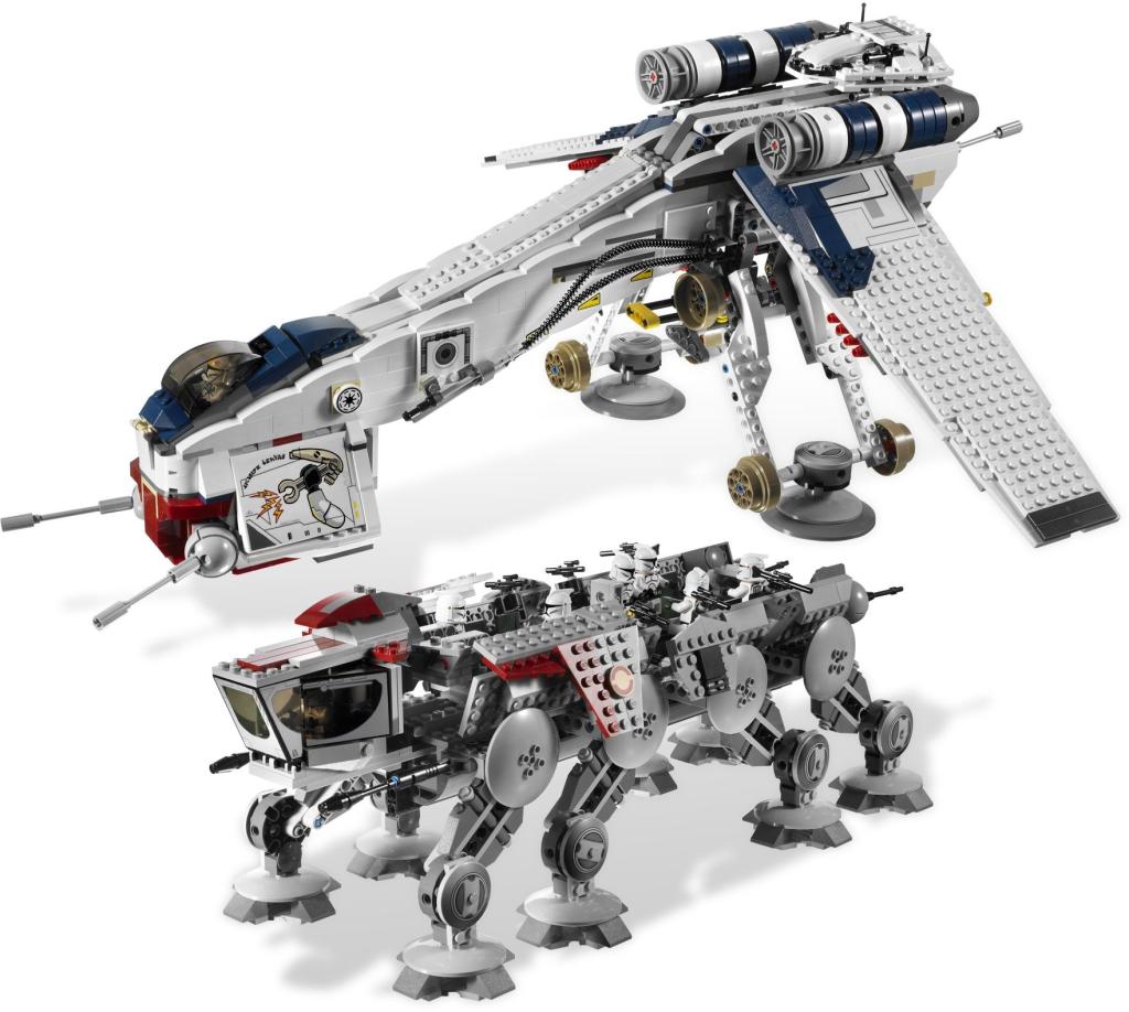 10195-1 Republic Dropship with AT-OT Walker