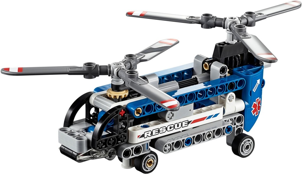 42020-1 Twin Rotor Helicopter