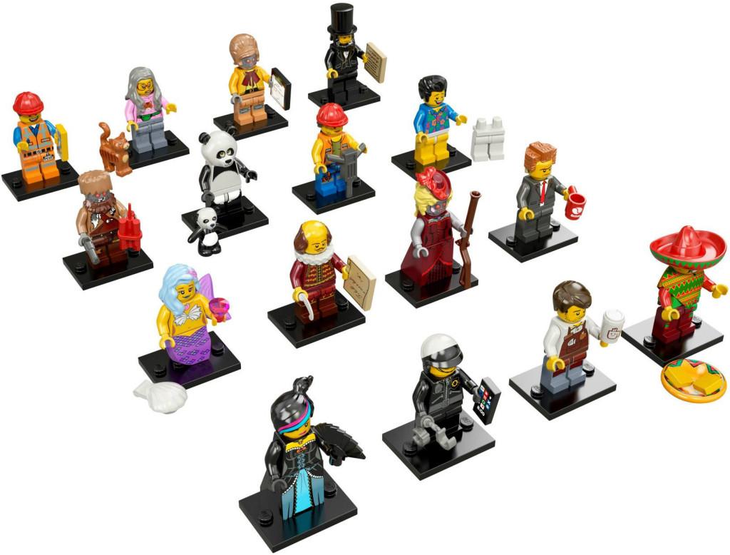 71004-17 LEGO Minifigures - The LEGO Movie Series