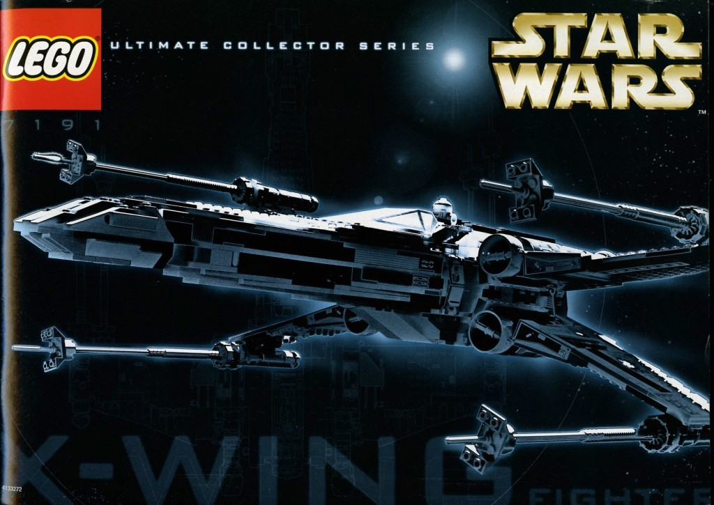 7191-1 X-wing Fighter