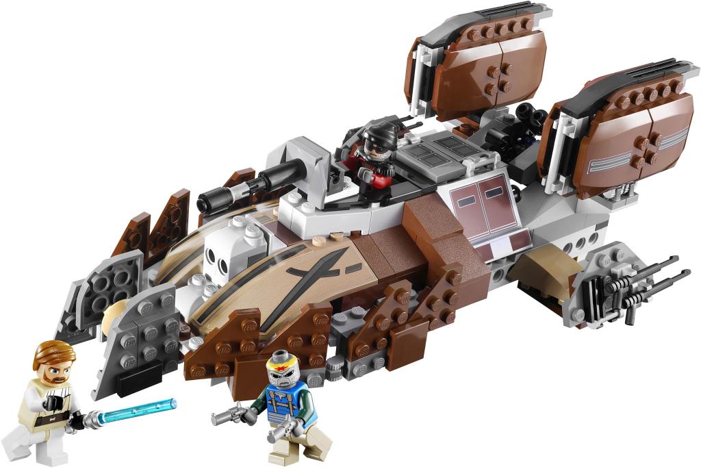 7753-1 Pirate Tank