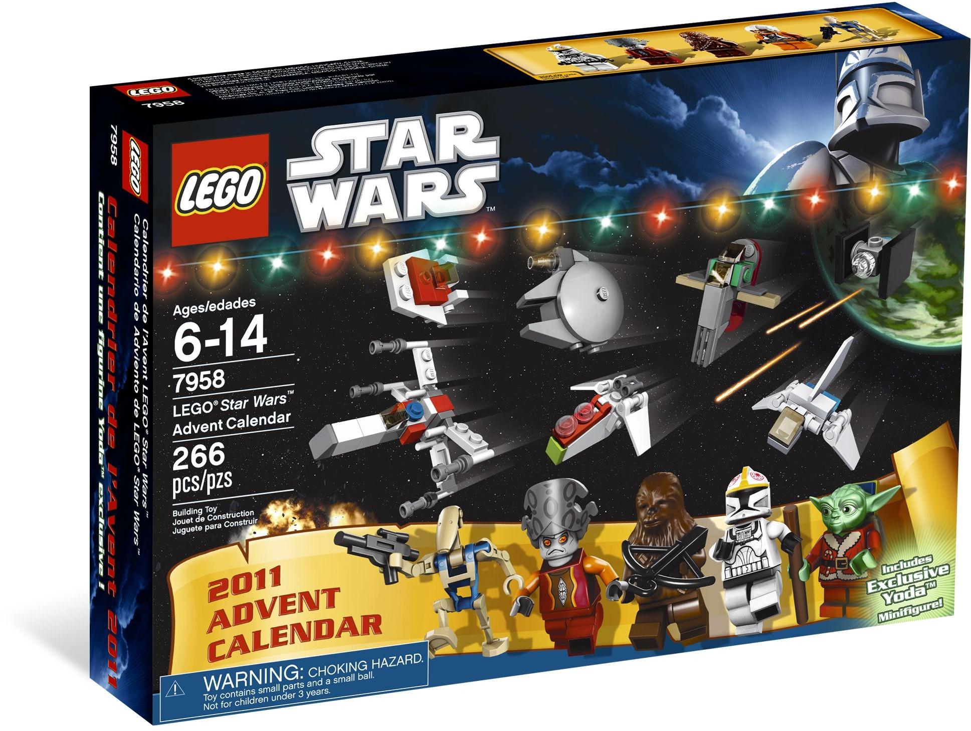 7958 star wars advent calendar 2011