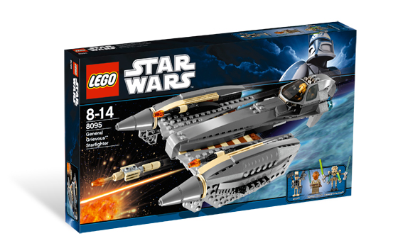 8095 General Grievous Starfighter Lego Star Wars Beyond