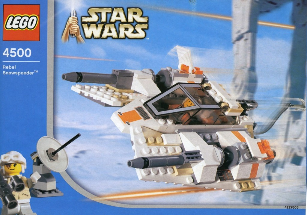4500-1 Rebel Snowspeeder