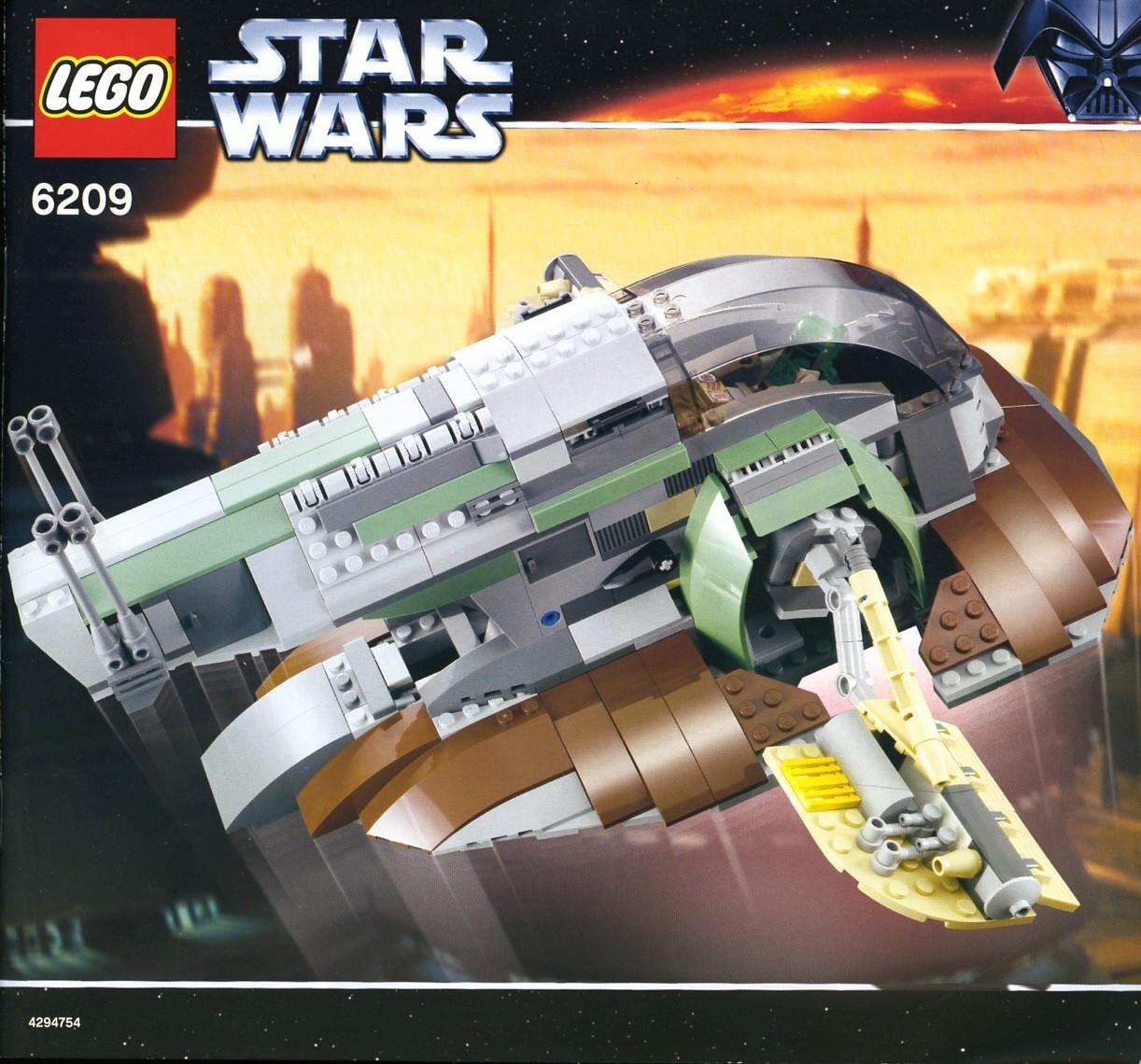 6209 slave i lego star wars beyond. Black Bedroom Furniture Sets. Home Design Ideas
