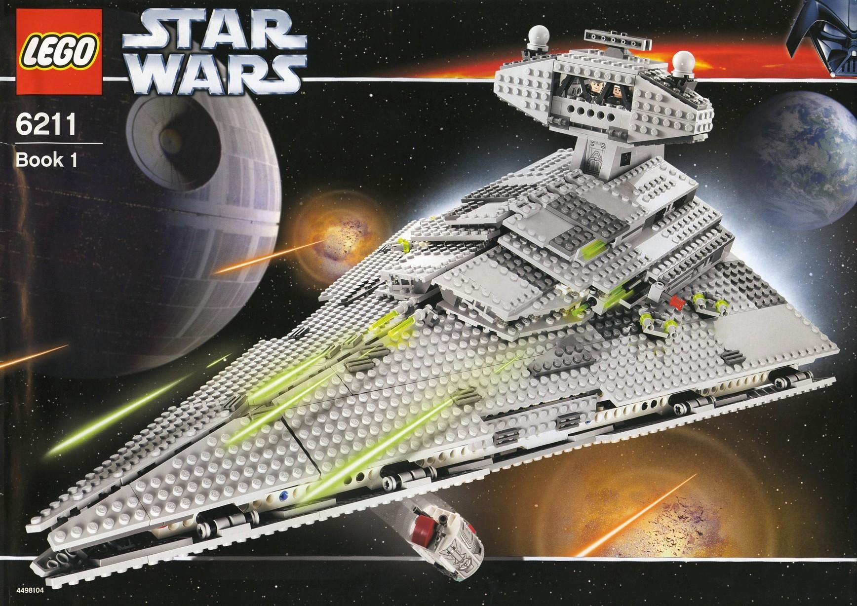 6211 Imperial Star Destroyer Hi-Res Images - FBTB   Lego Star Destroyer 6211