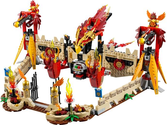 Phoenix Fire Temple LEGO Chima