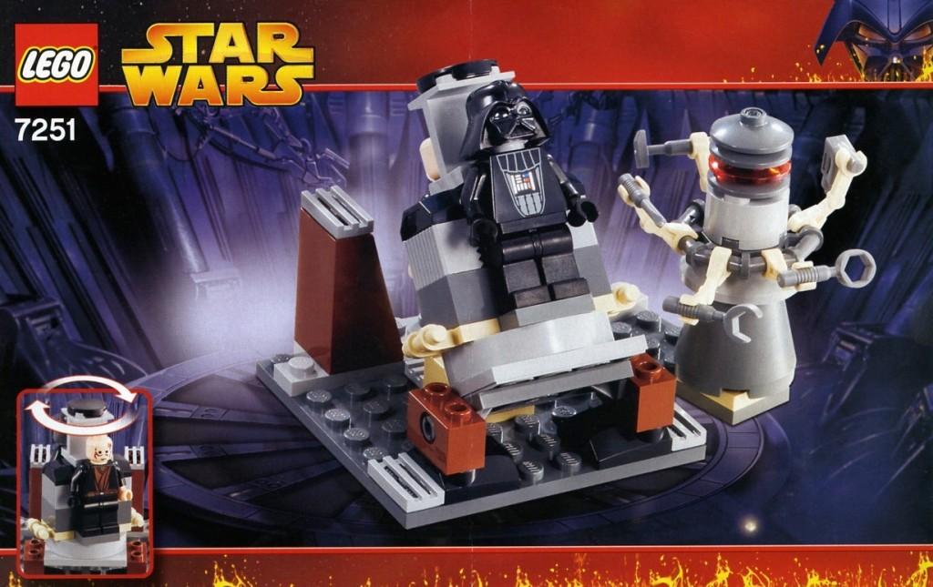 7251-1 Darth Vader Transformation