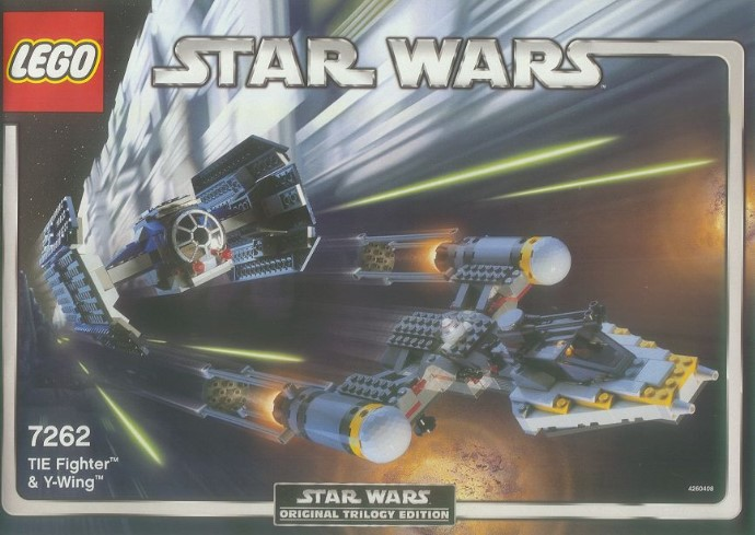 7262-1 TIE Fighter and Y-Wing