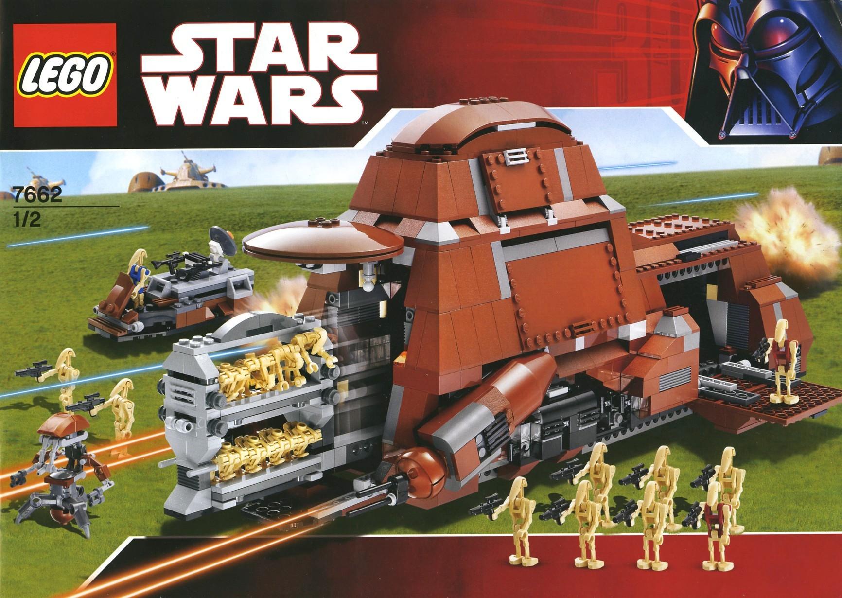 7662 trade federation mtt lego star wars beyond. Black Bedroom Furniture Sets. Home Design Ideas