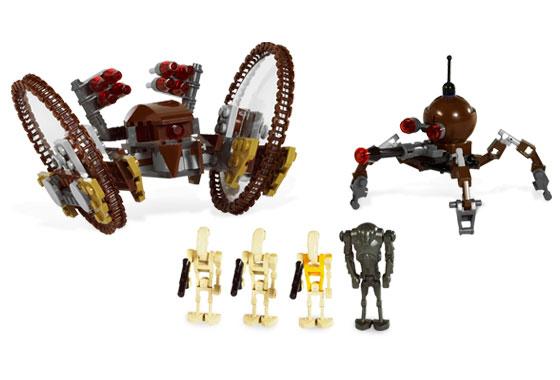 7670 hailfire droid spider droid lego star wars beyond - Lego star wars vaisseau droide ...